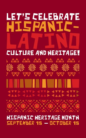 Bulletin cover for Hispanic Heritage Month.