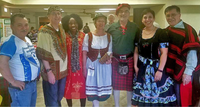 aste of Centennial attendees can travel the world thanks to the multicultural congregation at Centennial Multicultural UMC in Rockford, Illinois. Photo courtesy of Centennial Multicultural United Methodist Church.