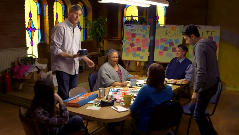 Chuck helps members of Park Grove Church to understand their purpose as a congregation.