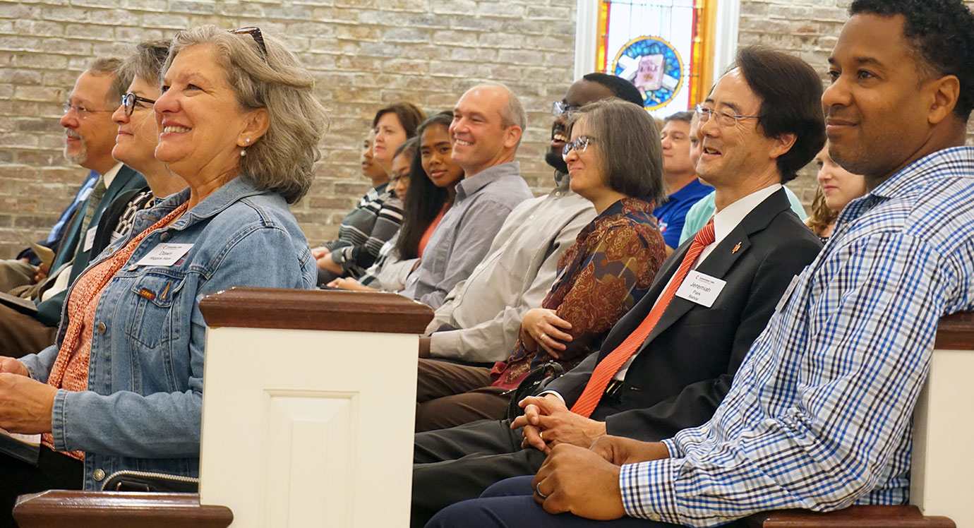 Connectional Table members worship together during their Fall meeting in Jacksonville, Fla.