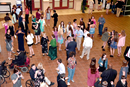 """Attendees flock to the dance floor in anticipation of an unforgettable night of dancing and community connections during Mount Pisgah United Methodist Church's """"Dream Big Dance."""" Photo courtesy of Mount Pisgah United Methodist Church."""