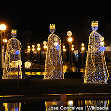"""Three Kings in """"Lessons of Epiphany"""""""