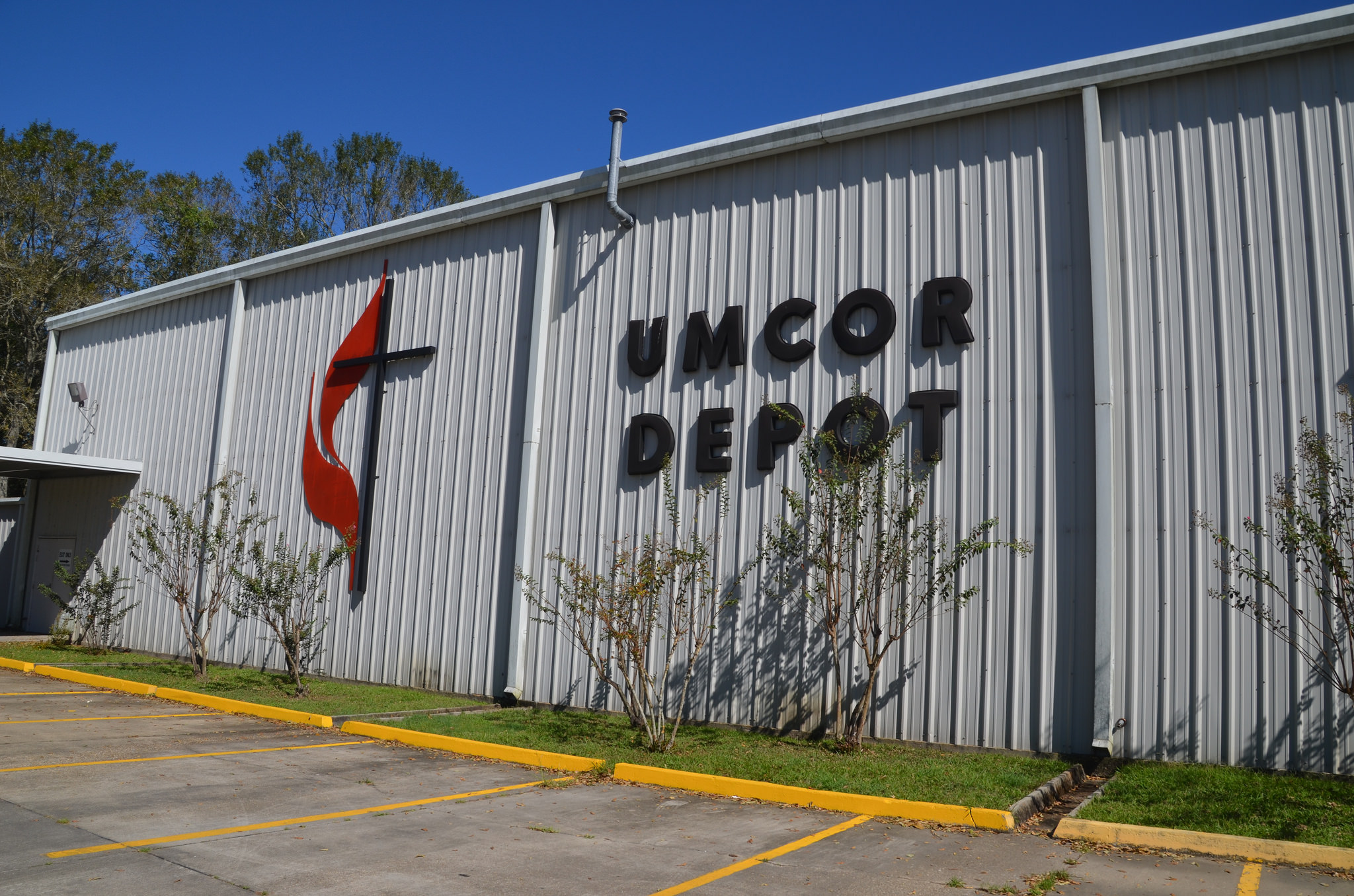 The UMCOR Sager Brown Depot in Baldwin, Louisiana. PHOTO: COURTESY UMCOR SAGER BROWN DEPOT