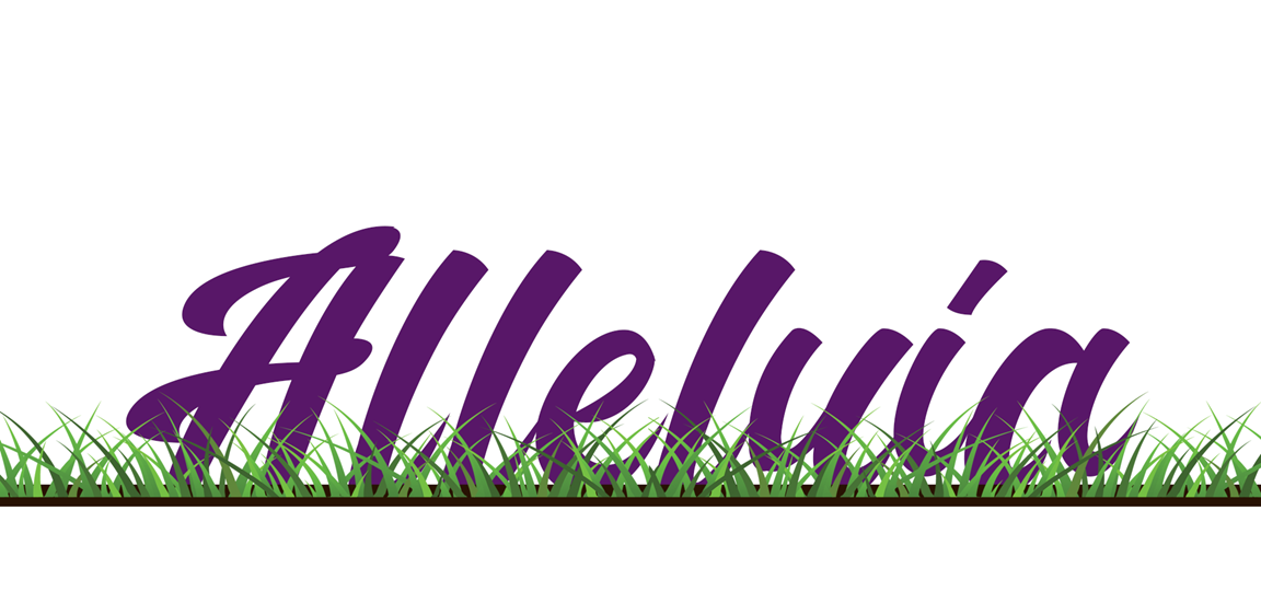 """Some churches bury or """"hide"""" the Alleluia during Lent.  Illustration by Cindy Caldwell, United Methodist Communications."""