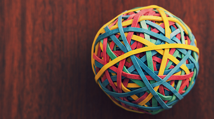 Effective Leadership - Rubberband Ball