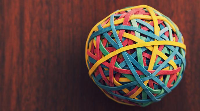 Effective Leadership - Rubberband Ball