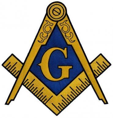 El emblema de la Masonería, o los masones.
