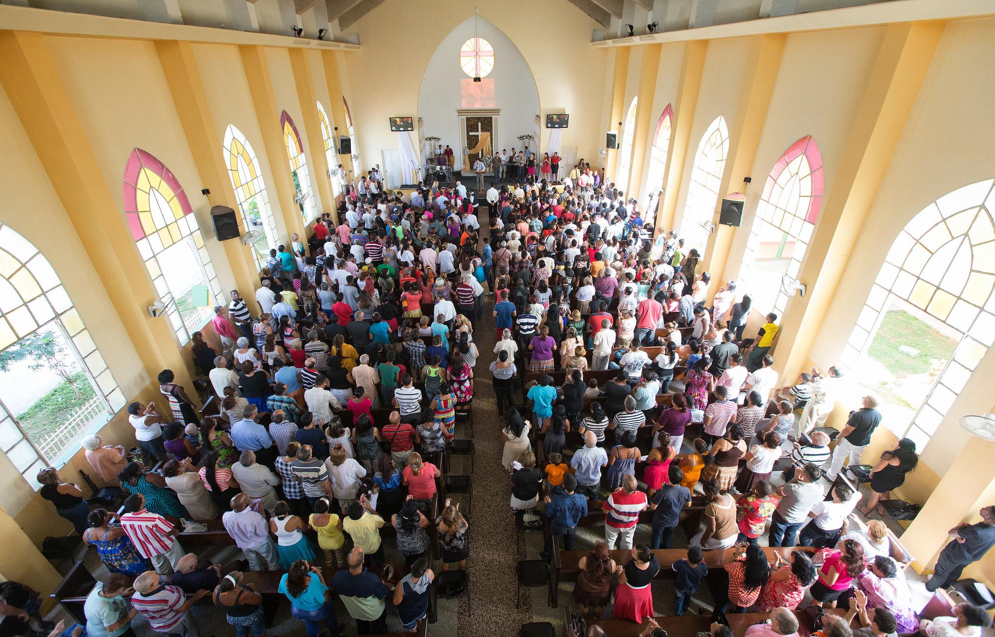 Iglesia Metodista Marianao en la Habana, Cuba. Foto cortesía de Mike DuBose.
