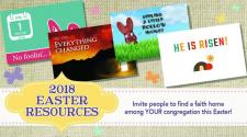 2018 Easter outreach resources available from Outreach.com/UMC