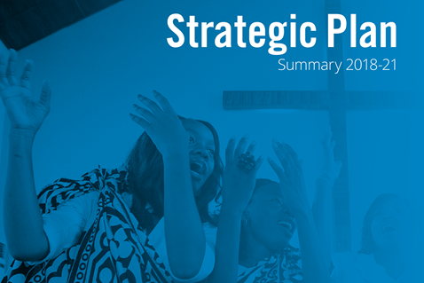 Strategic Plan for the period 2018-21. Courtesy of Global Ministries.