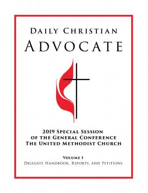 Advance Edition Daily Christian Advocate