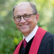 United Methodist bishop has a background in science. Photo courtesy Bishop Lawson Bryan.