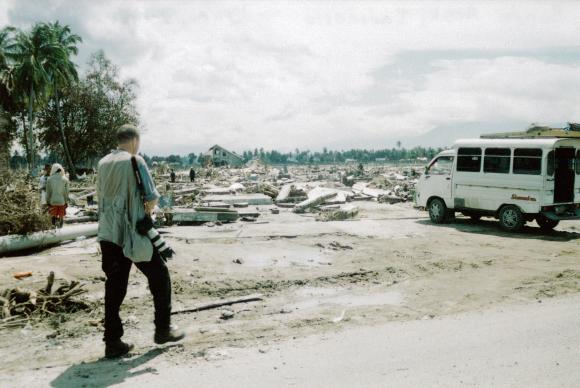 United Methodist News Service photographer Mike DuBose covers the Asian tsunami of 2005 in Banda Aceh, Indonesia.