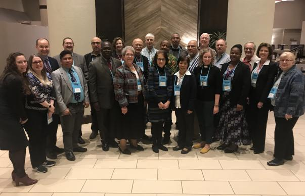 Diane Degnan, United Methodist Communications  The General Conference Committee on Reference met January 11-12 in Irving, Texas.