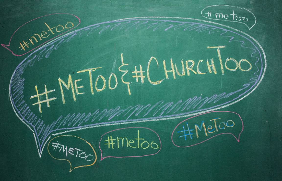 #MeToo and #ChurchToo. Image by Kathleen Barry , United Methodist Communications.