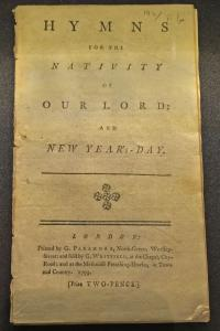An early Charles Wesley hymnal.