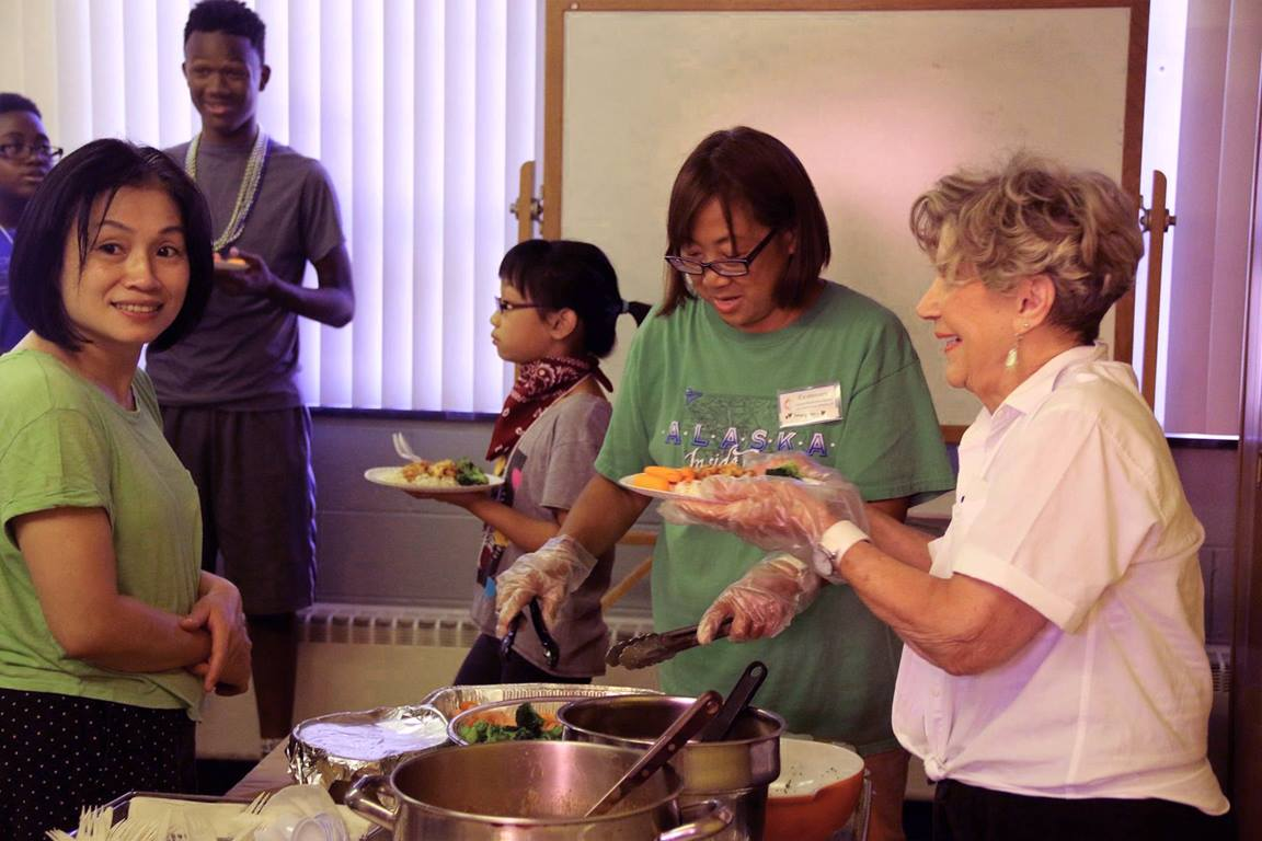 Members of Centenary UMC in Metuchen, New Jersey, celebrate diversity and the love of God through service and community. Photo courtesy of Centenary United Methodist Church.