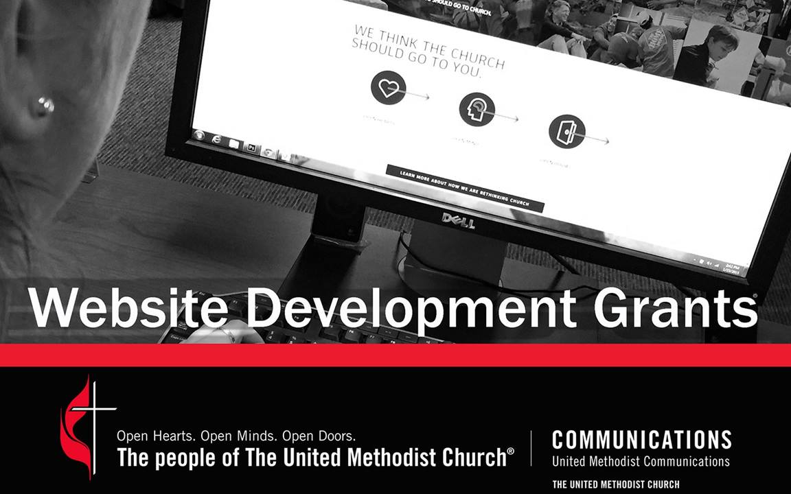 Grants are available for United Methodist churches and entities that do not currently have a website.