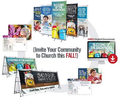 Invite Your Community to Church this Fall