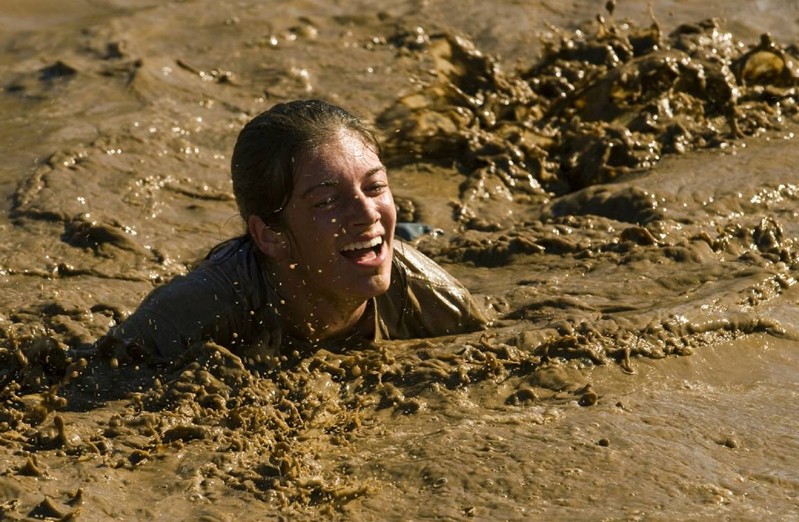 There are tons of fun mud activities that will tempt your church's young-at-heart. Students and adults alike can have a ton of fun for the price of a load of dirt and some cheap goggles. Image by skeeze, Pixabay.