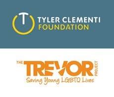 The Tyler Clementi Foundation and The Trevor Project support the lives of at risk LGBTQ youth.
