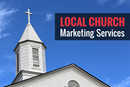 Local Church Marketing Services. Image of the steeple of Glendale United Methodist Church, Nashville, Tennessee. Photo by Steven Adair, United Methodist Communications.
