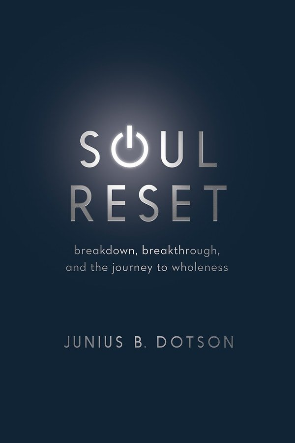 Soul Reset book cover. Courtesy of Upper Room Books. August 2019.