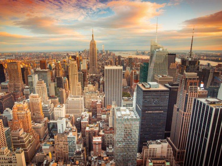 NYC Skyline - Unwrap Christmas