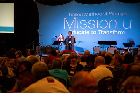 Mission u 2019 Leader Training Events in Tempe, Arizona, May 1-4, 2019. Photo by Laura Poarch, courtesy of United Methodist Women.