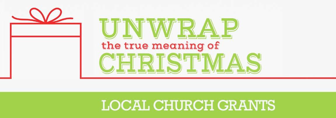 Unwrap Christmas Local Church Grants