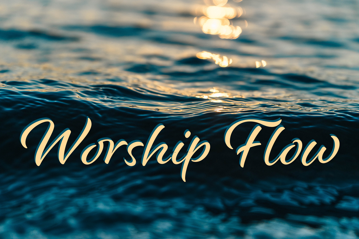 Smoothly flowing worship is crucial to your church service. Water image by PublicCo, Pixabay.
