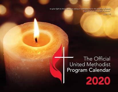 The Official United Methodist Program Calendar is the perfect planning tool for your program ministries.