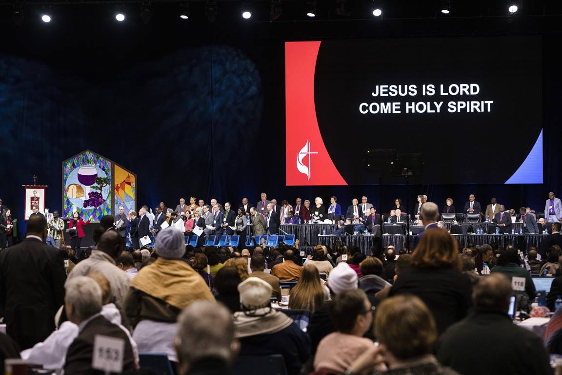 The opening day of the special session of the 2019 General Conference of The United Methodist Church.