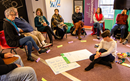 More than 100 people learned to be effective and compassionate facilitators for difficult conversations within the divisive climate of The United Methodist Church. Image courtesy of Global Ministries.
