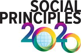 The Social Principles 2020 logo. Courtesy of Church of Society.