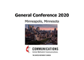 General Conference 2020