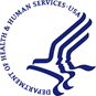 Department of Health and Human Services Logo.