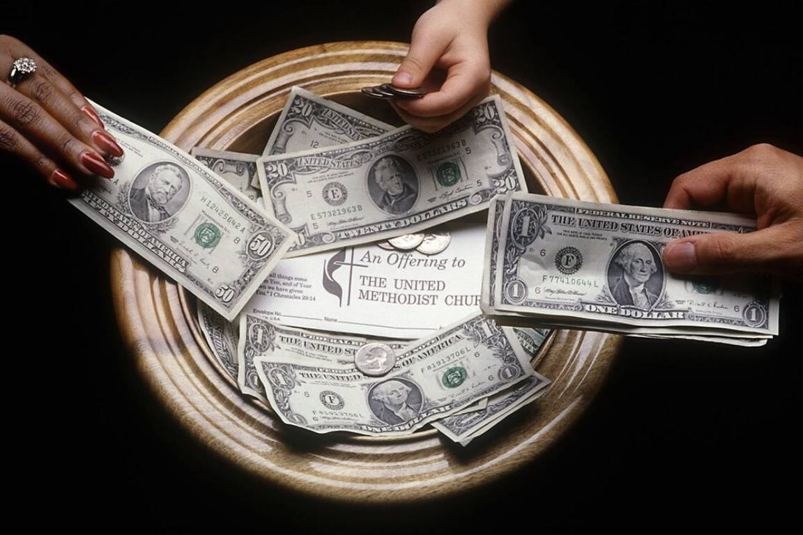 Church budget illustration. (Photo by Mike DuBose, UMNS.)