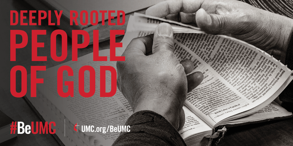 """During a time of chaos and confusion, the """"People of God"""" campaign is meant to serve as a reminder of who we know we have been at our best -- the spirit-filled, resilient, missional, connected, faithful, diverse and deeply-rooted people of God called The United Methodist Church. Image by United Methodist Communications."""