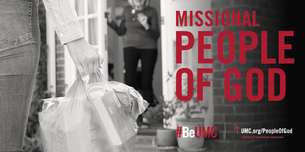 Helping our neighbors, near and far, is the embodiment of faith in action. Image by United Methodist Communications.