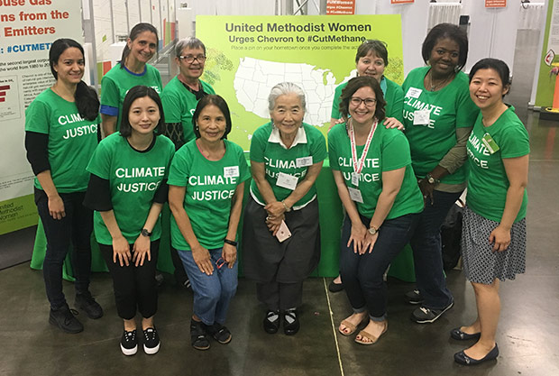 UMW Climate Justice Jurisdictional Guides. Courtesy of UMW.