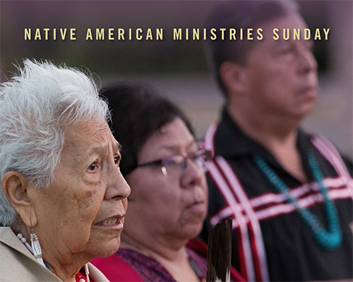 Native American Ministries Sunday Giving Promo Card image