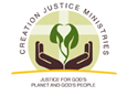 Creation Justice Ministries logo.