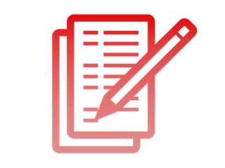 View the forms required for submitting briefs, reports of decisions of law, requests for declaratory decisions and appeals to the court. Icon by Daniel Yahya, Noun Project.