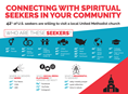 As a church leader, you know your church should be reaching out to spiritual seekers. But how do you reach out to them? Who are seekers and what do they care about? Infographic by United Methodist Communications.