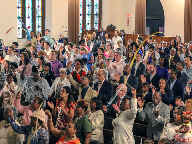 The Connectional Table (CT) stewards the vision and considers the UMC's total mission by considering the most effective, cooperative, and efficient way to make use of our ministry, personnel, and resources. Image courtesy of the Connectional Table.