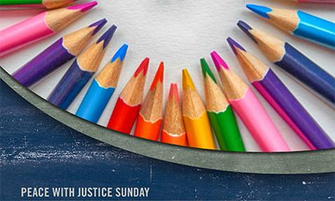 Peace with Justice image for promo card