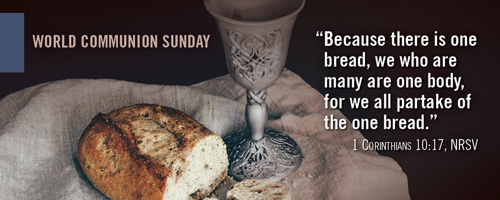 2020 World Communion Sunday Article image