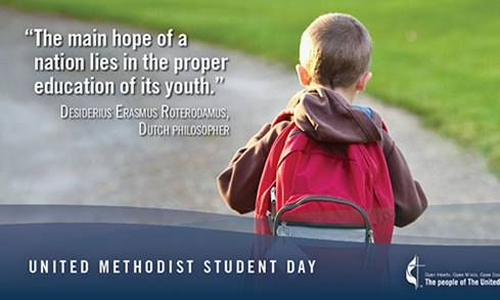 2020 United Methodist Student Day Pastor Kit