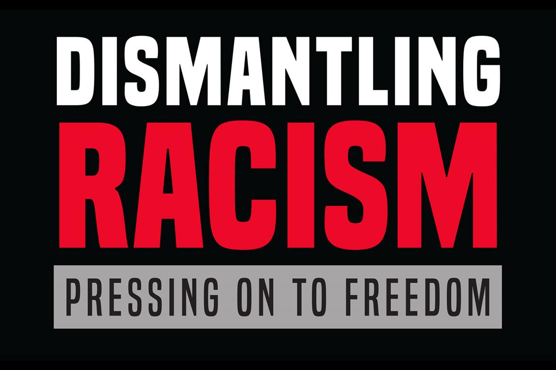 연합감리교인들은 인종차별을 반대합니다. 사진, 연합감리교회 공보부